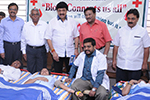 Students  donated  blood during the camp and  was appreciated by  the  Sri  N. L. Narendra Babu, Former Member of Legislative Assembly, Dr.   Raju  Chandrashekhar, President, Karnataka Voluntary Blood Donors' Association, Dr. Wooday  P.  Krishna, Hon. General Secretary, Seshadripuram  Educational Trust  and  other  dignitaries.