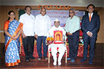 Dr. J. S. Patil, was felicitated by the dignitaries.