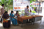 NSS Camp was inaugurated by Sri. B. M.  Parthasarathy, Honorary Treasurer, Seshadripuram   Educational Trust.