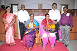 Sri.B.M.Parthasarathy, Hon.Treasurer, Seshadripuram Educational Trust, Sri.K.Krishnaswamy, Trustee, Seshadripuram Educational Trust & Chairperson, Governing Council, Seshadripuram Law College. Smt.Geetha, Bus conductor, BMTC, and Smt. R.Bharathi, Post woman, Bengaluru were felicitated by the above dignitaries for their achievements in their respective fields.